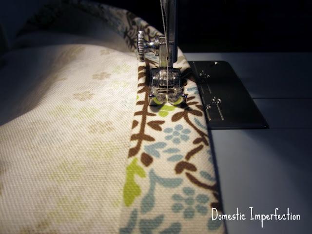 stitch the hems
