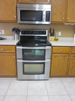 beautiful new oven