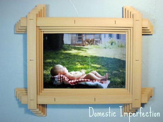 DIY large photo frame