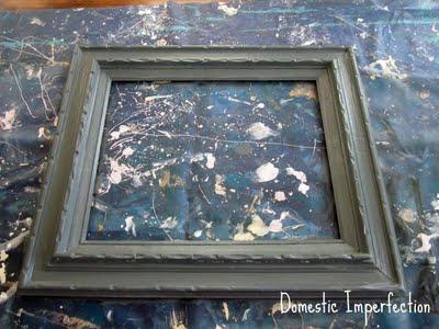 repainting photo frame