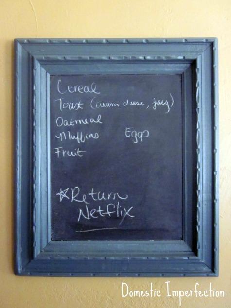 perfect kitchen chalkboard