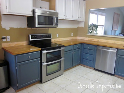 kitchen mid-remodel