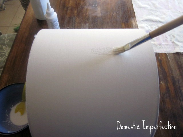 revamp old lamp shade