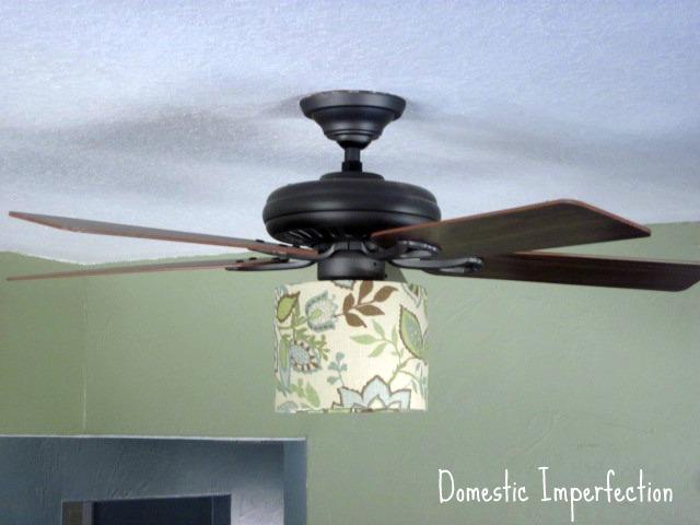 lamp shade fan