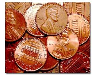 penny counter top ideas
