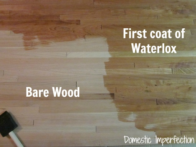Waterlox countertop