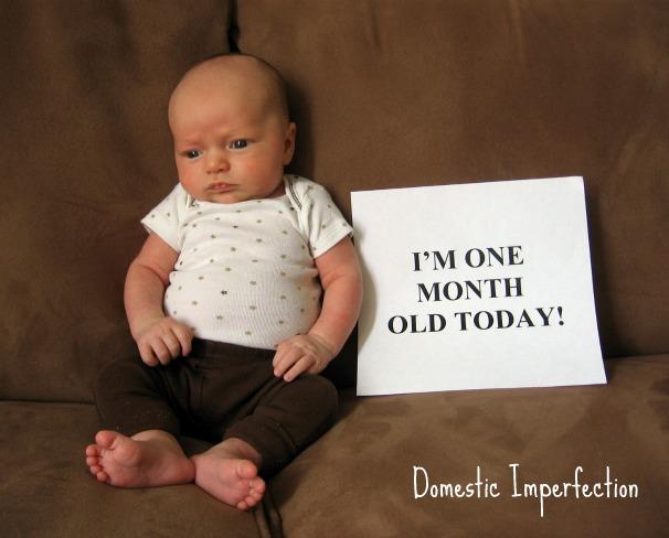 One Month Elijah