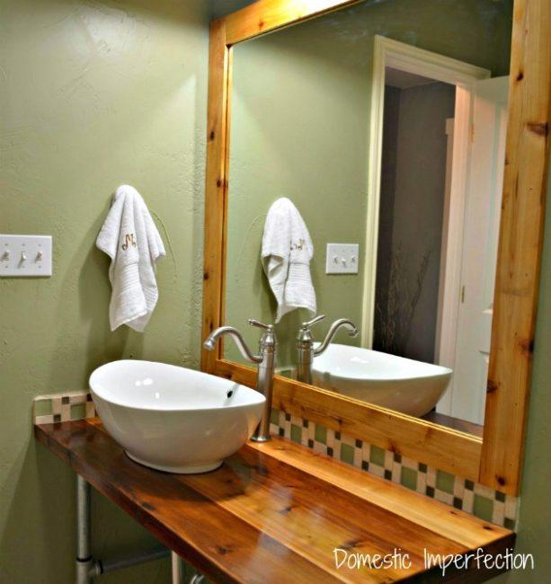 adding bathroom color