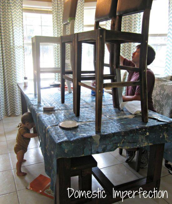 bar stool renovation