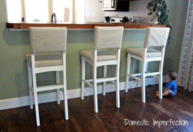 cheap bar stool DIY