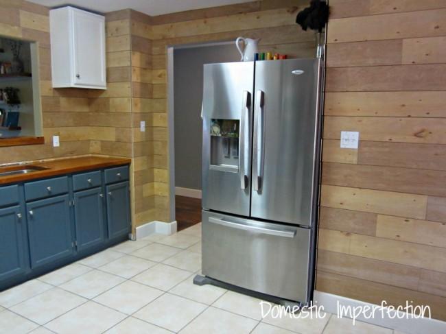 kitchen wall progress