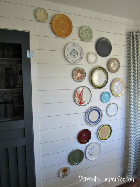 plate wall design idea