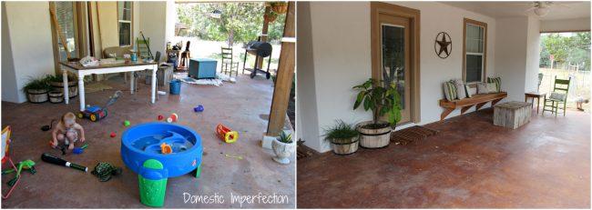 front porch progress