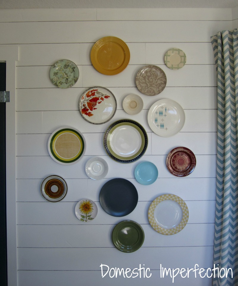 DIY Plate Wall