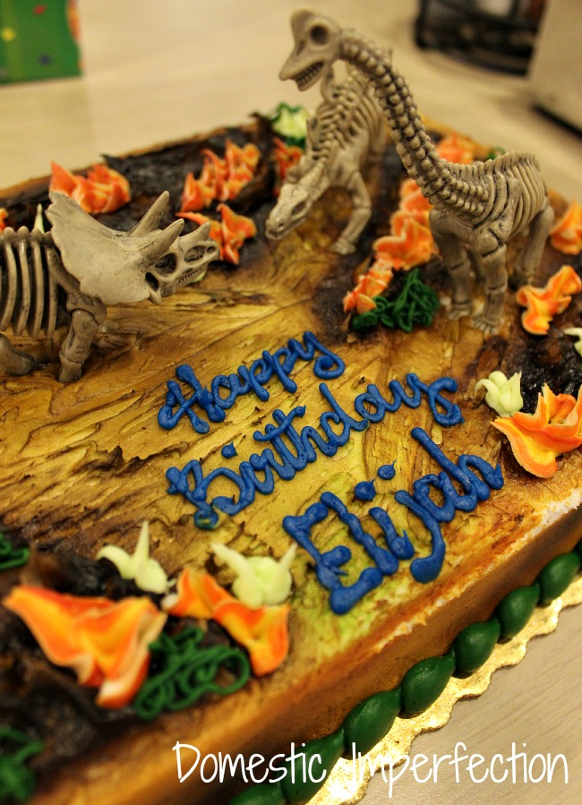Dinosaur Birthday Cake Walmart