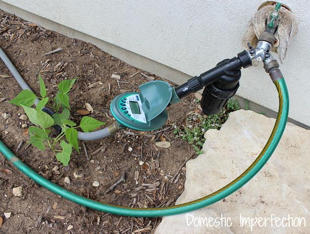 hose bib irrigation timer - never water your garden again