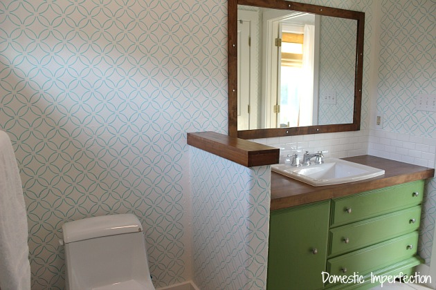 athroom remodel progress