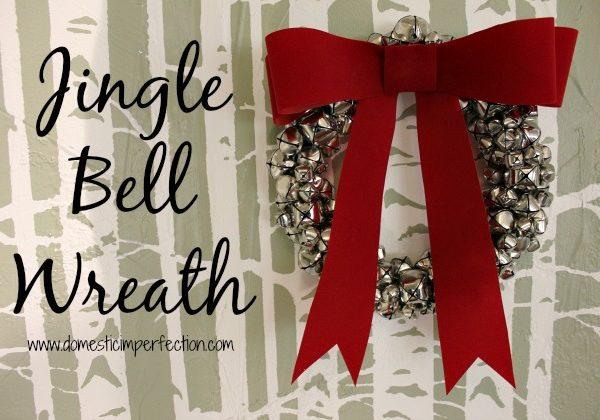 How to Make a Jingle Bell Wreath