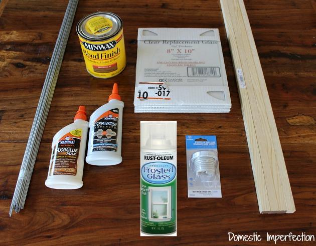 light fixture materials