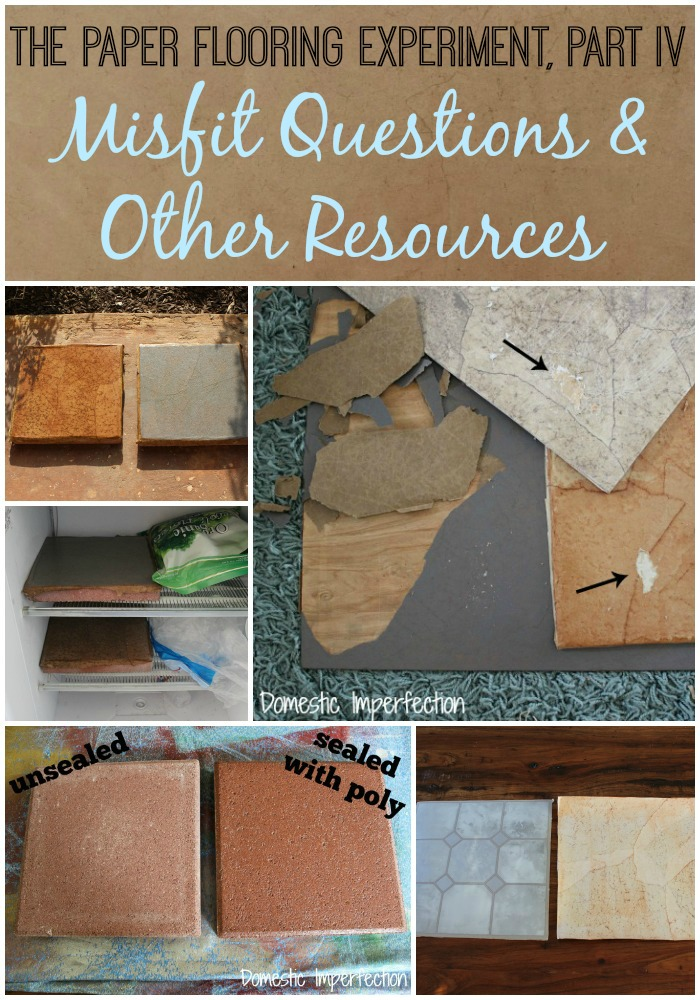 Paper Flooring Part IV