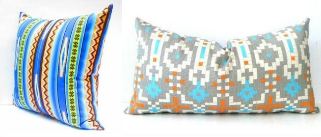 CityGirlsDecor tribal pillows