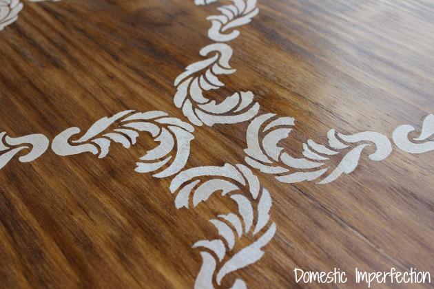 stencil close-up