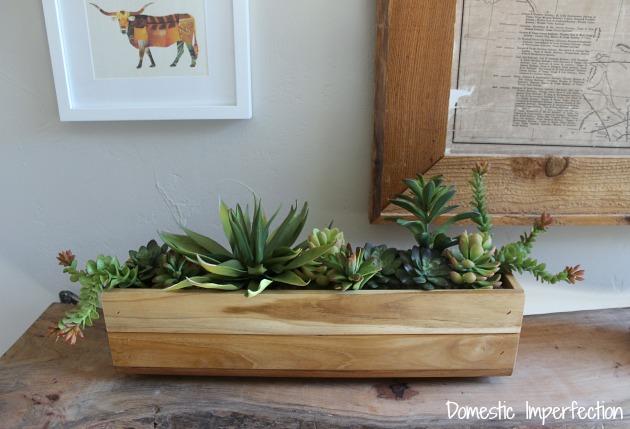 fake succulents