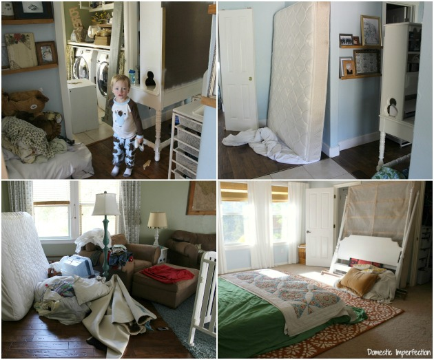 renovation disorganization