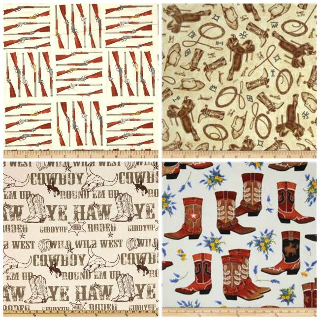 western print fabrics