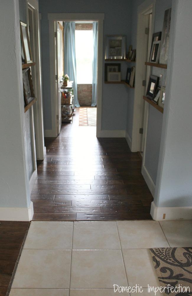 mismatched flooring