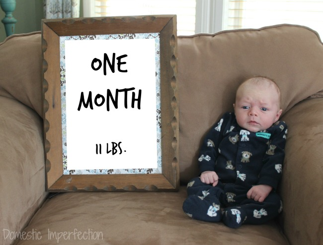 Judah - one month W