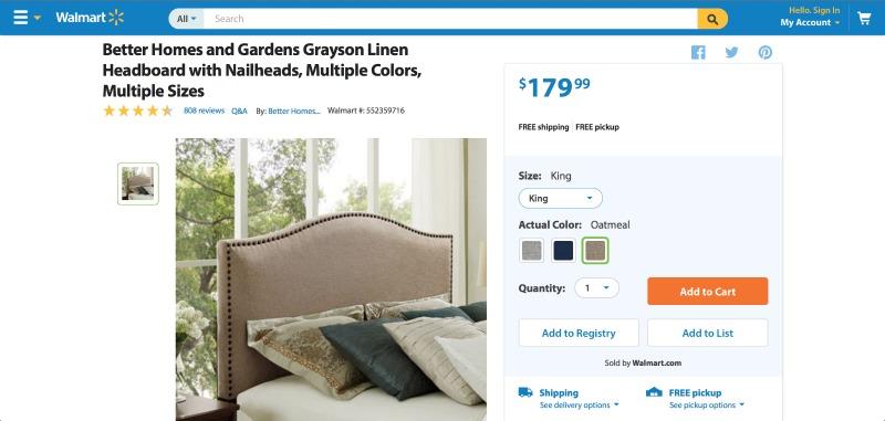Grayson Linen Headboard