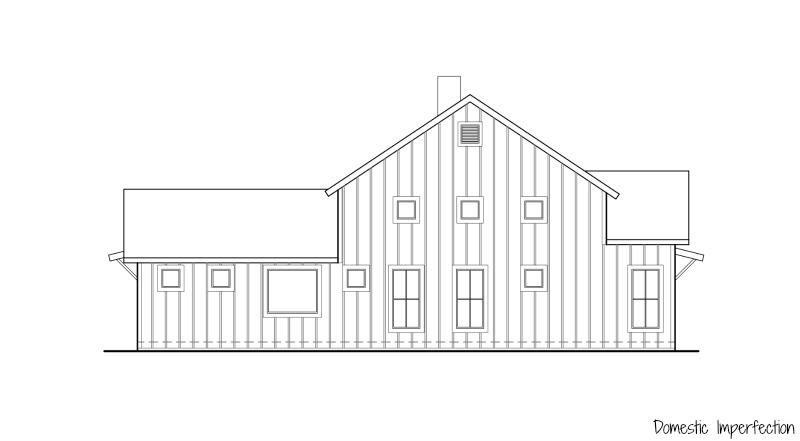 left side of house