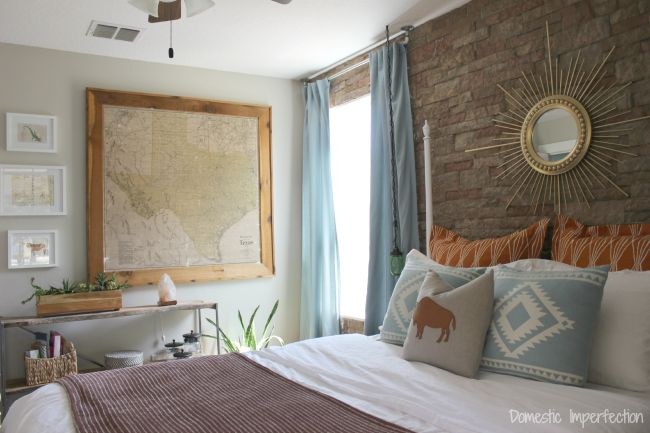 beautiful rustic bedroom makeover