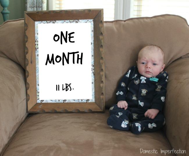 Judah - one month edit