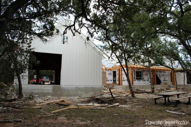 rustic farmhouse - progress