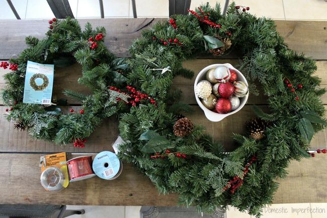 wreath decor supplies