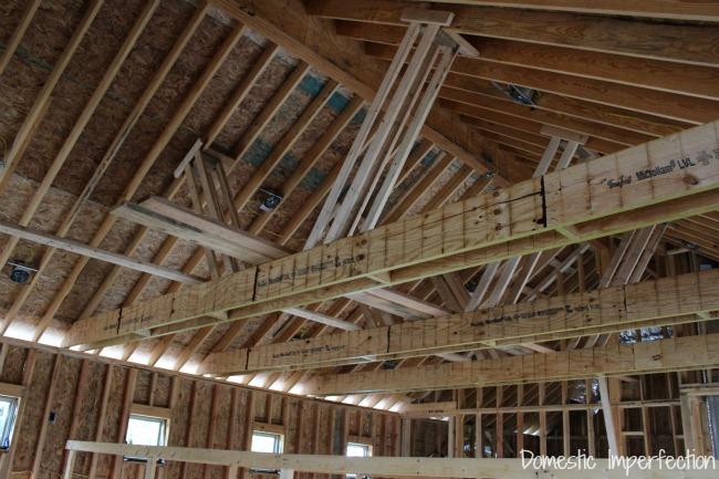 fake ceiling beams