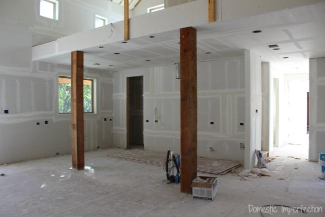 drywall - kitchen