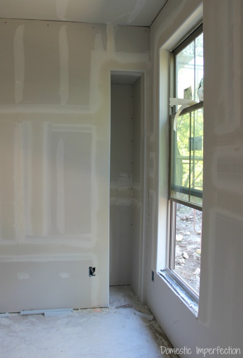 drywall - wall nook