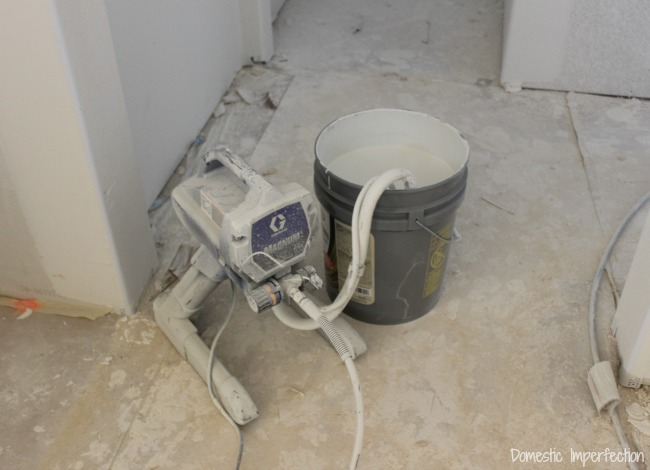 Graco XD paint sprayer