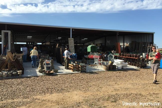 Round Top antiques market