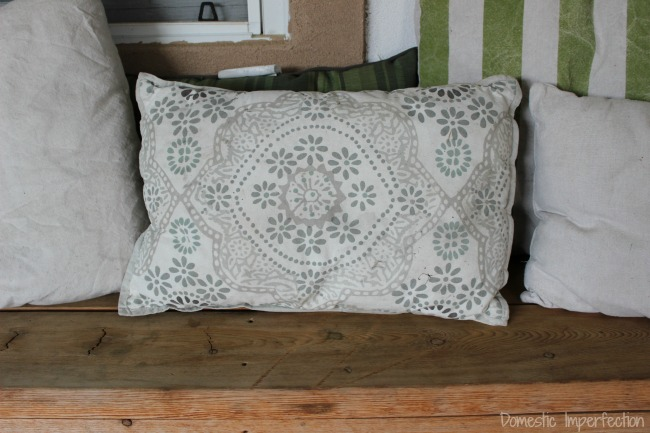 sunbleached pillow