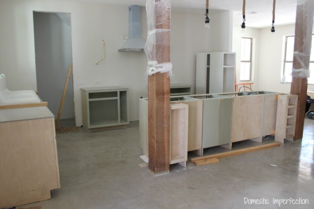 DIY kitchen progress