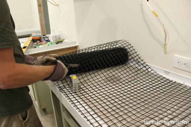 Mesh Fiberglass For DIY Concrete Countertops