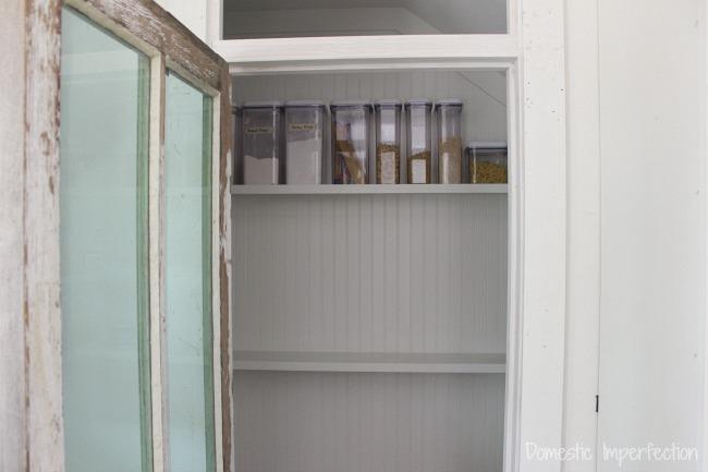 walk-in farmhouse pantry