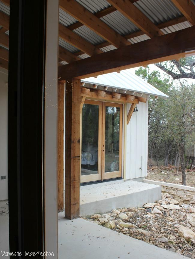 master bedroom back porch