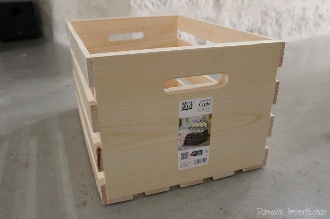 Home Depot basket drawers