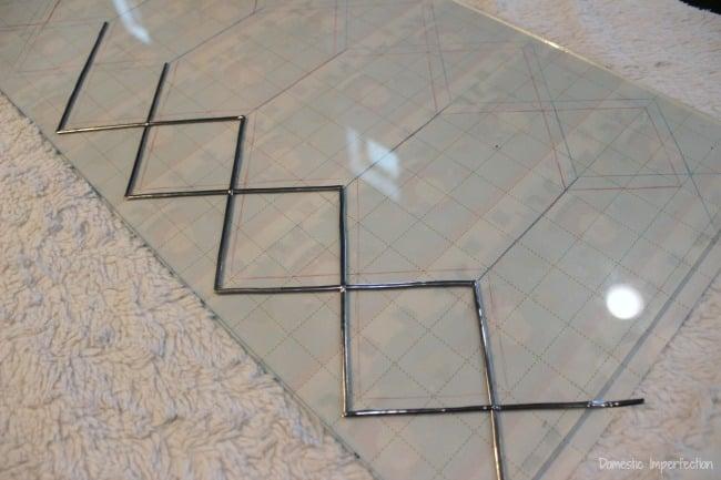 DIY leaded glass