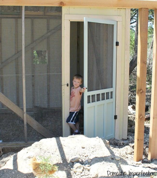 farmhouse children
